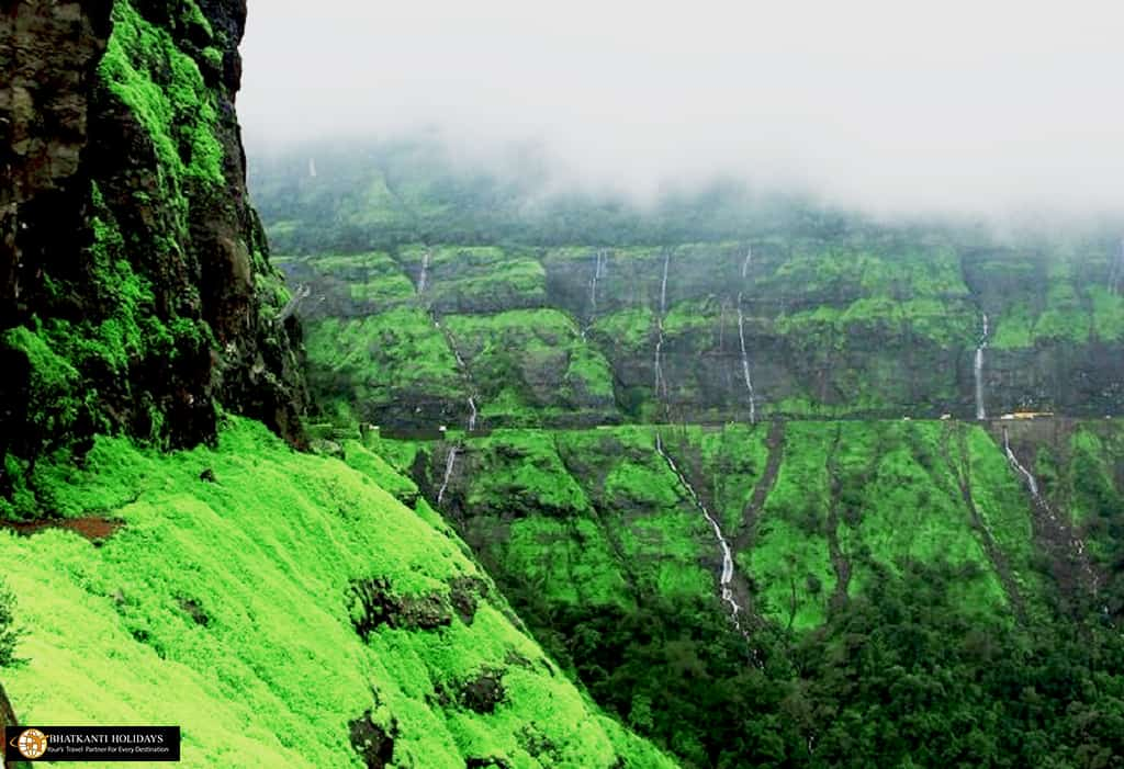 Malshej ghat, Malshej, Malshej waterfall