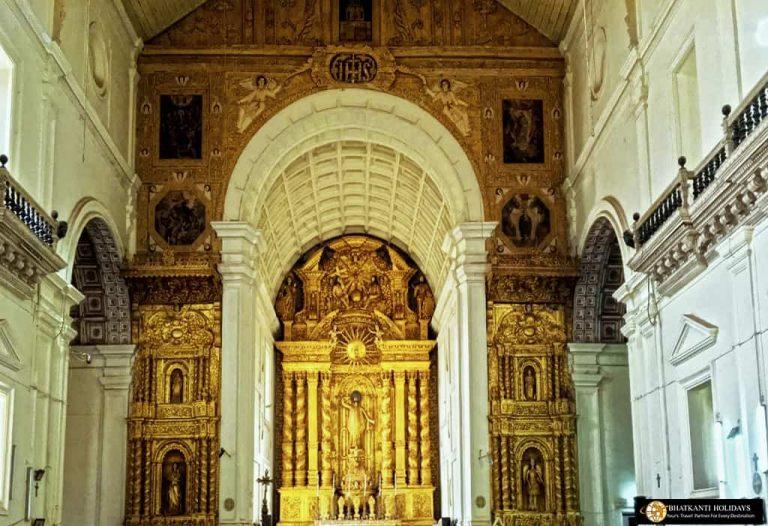 Basilica Of Bom Jesusu Church Goa