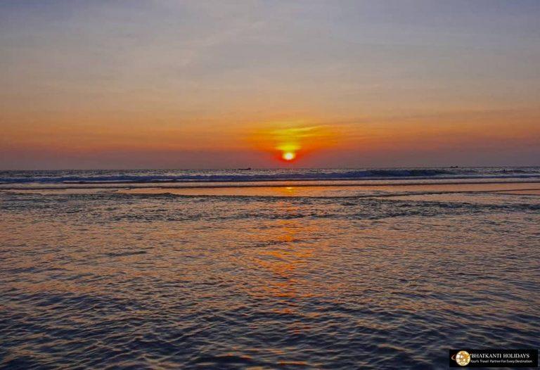 Kovalam Beach Sunset View