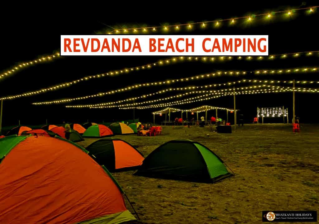 Revdanda Beach Camping, Revdanda Camping